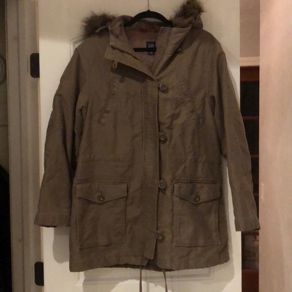 GAP Jackets & Blazers - Gap - Light Winter Coat - Taupe - Size L